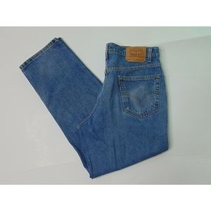 Vintage Levi's 550 36 X 30 Relaxed Fit Blue Jeans